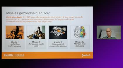 Schermafbeelding van het innovatiecafé van 29 oktober 2020